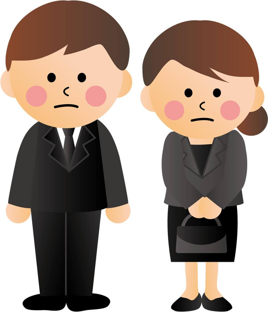 急な葬儀・お葬式のときに、気をつける【服装マナー】 class=