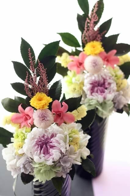 仏壇用のお花のマナー class=